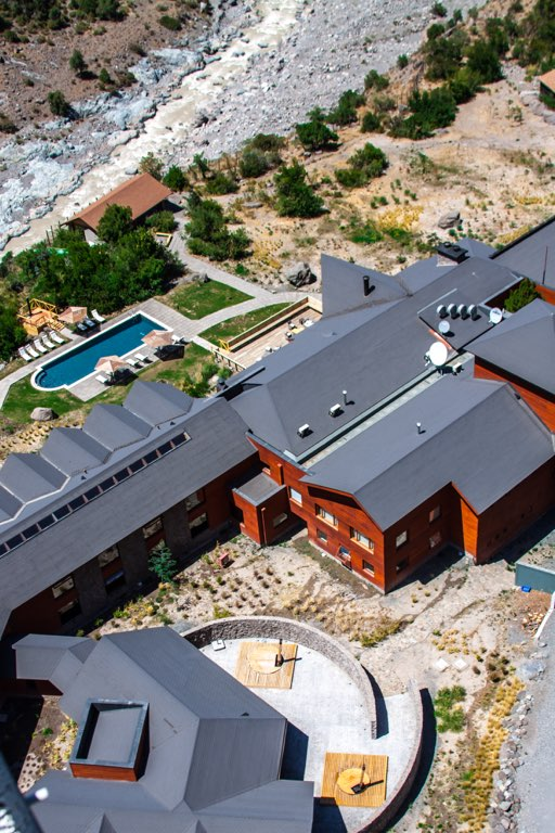 NOI Puma Lodge Exteriors Summer Aerial View 1