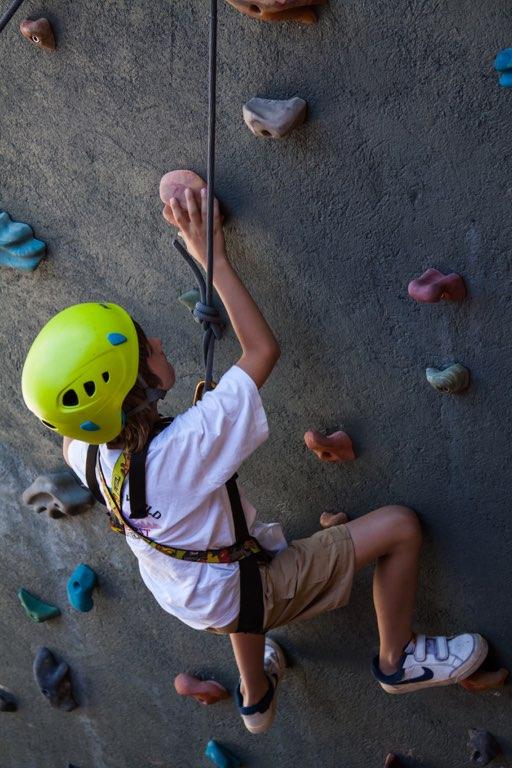 NOI Puma Lodge Exteriors Summer Climbing Wall 1