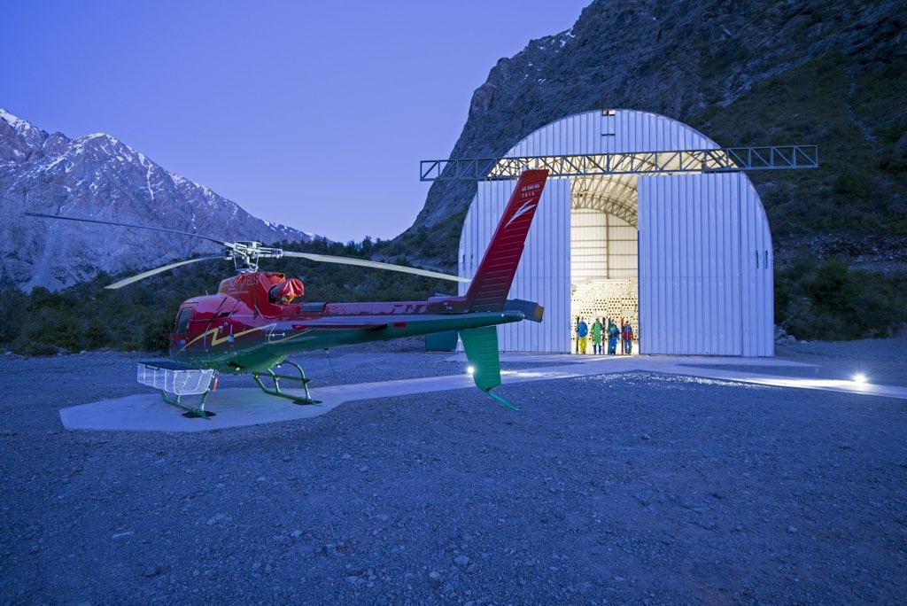 NOI Puma Lodge Heliski Helicopter 1