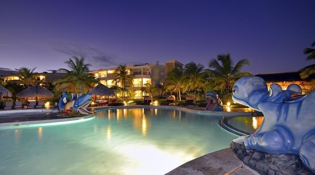 piscinas noche