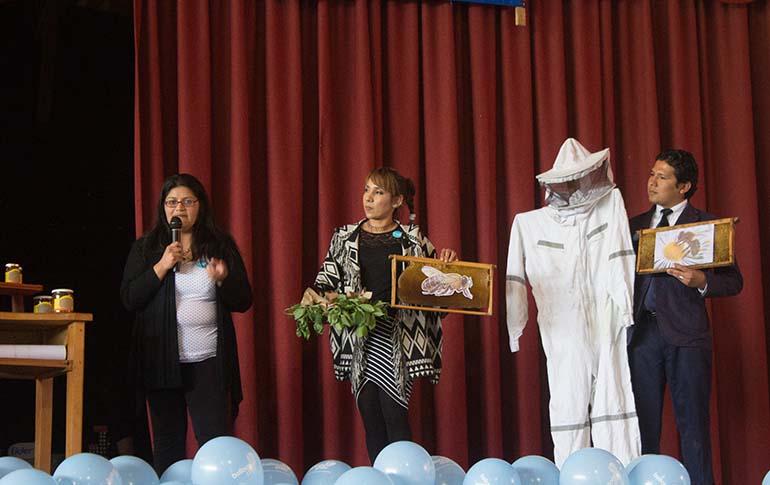 Ceremonia cierre presentacion