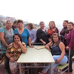 Foto circular mujeres avefenix