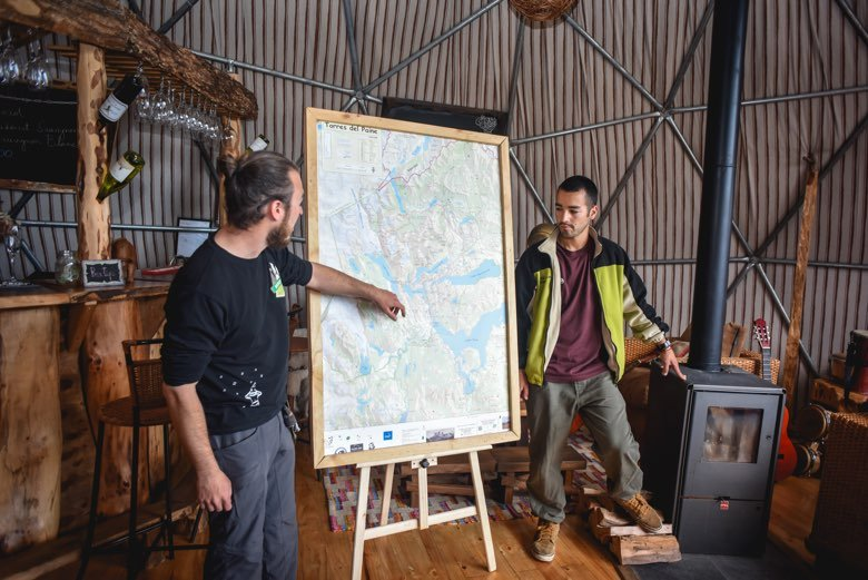 briefing in the community domes bar ecocamp patagonia 31294740020 o