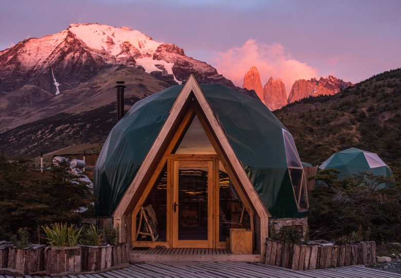 ecocamp patagonia sunrise in torres del paine national park chile 25585753123 o